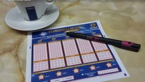 lottery slip