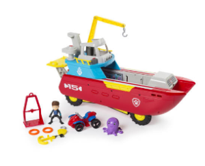 Paw Patrol Sea Patroller contents