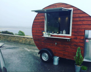 The Pod located on the side of the road along the Wild Atlantic Way