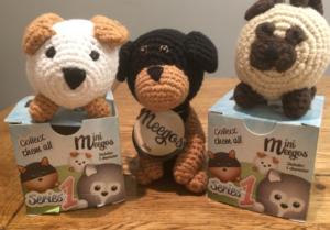 crochet dog toys