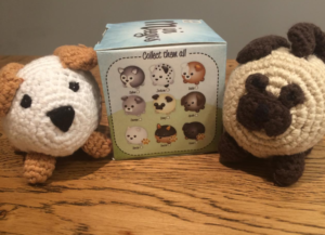 mini crochet teddies