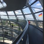 Inside the German Parliament buidling done