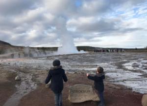Geysirs in Iceland