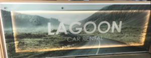 lagoon car rental desk