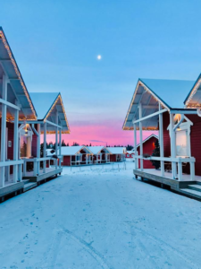 santa claus village cabins