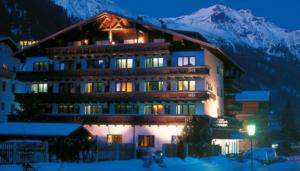 building set in the hills in austria